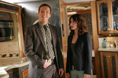Damian Lewis and Sarah Shahi